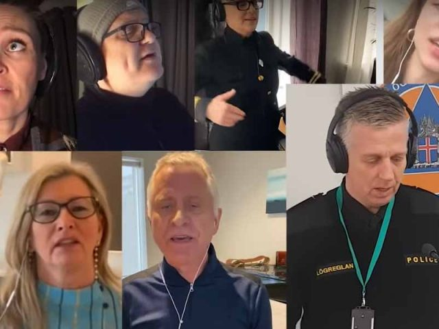 Chief Epidemiologist and Chief of Police Sing Together (with English lyrics)
