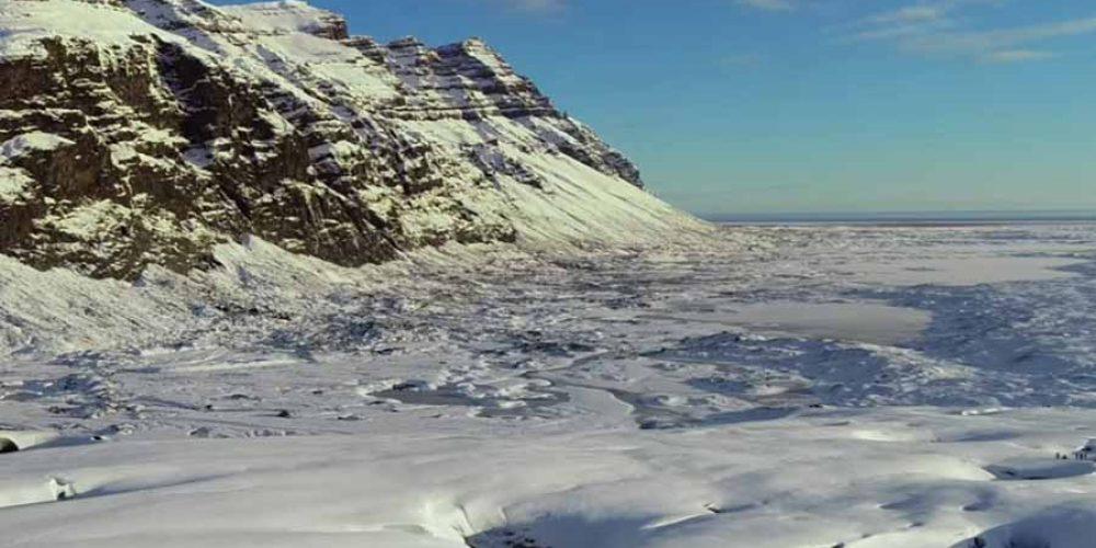 Iceland South Coast Aerial Video