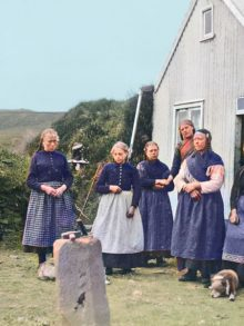 Colorized Vintage Photos from Iceland